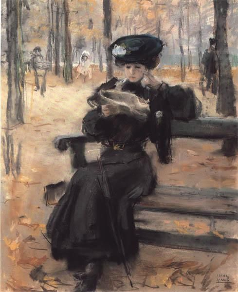 isaac-lazarus-israels-donna-che-legge-alle-tuileries