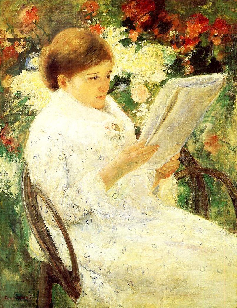 mary-cassatt-woman-reading-in-a-garden