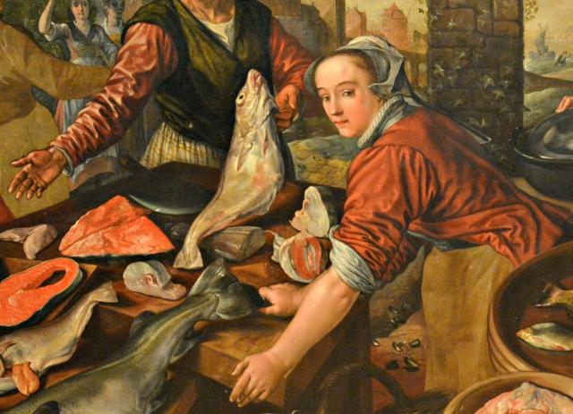 beuckelaer-particolare-mercato-del-pesce